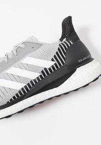 adidas Performance - SOLAR GLIDE ST 19 - Stabilty running shoes - grey two/footwear white/solar orange - 5