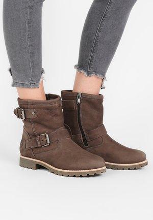 FELINA IGLOO - Cowboy/biker ankle boot - grey
