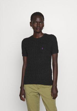 TEE SHORT SLEEVE - T-shirt z nadrukiem - charcoal heather
