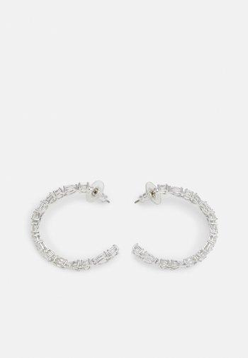 TENNIS HOOP - Boucles d'oreilles - silver-coloured