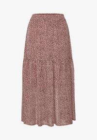 Kaffe - BPFILUA - A-line skirt - old rose with black flowes - 4