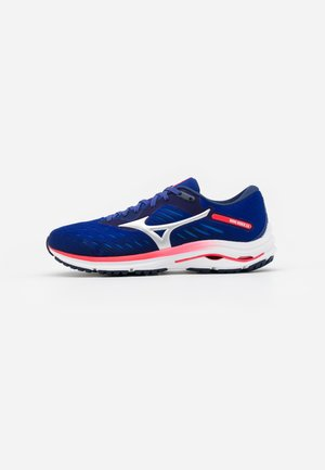 WAVE RIDER 24 - Neutral running shoes - blue/diva pink