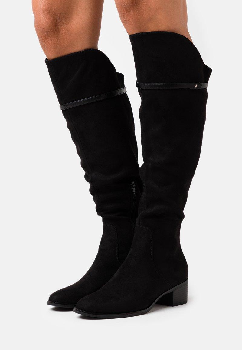 Anna Field - Stivali sopra il ginocchio - black
