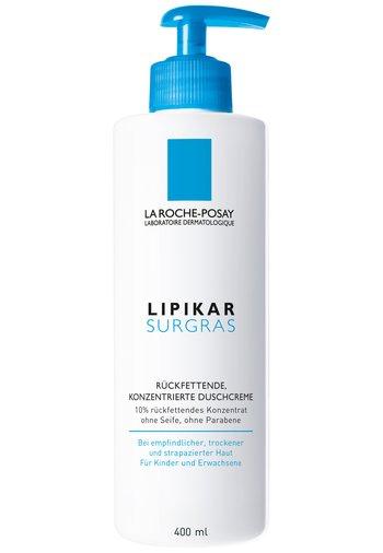 BATH & SHOWER LA ROCHE-POSAY LIPIKAR SURGRAS RÜCKFETTENDE, KONZE - Shower gel - -
