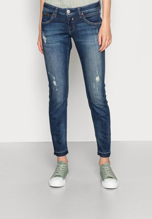 TOUCH CROPPED ORGANIC - Slim fit jeans - calm destroy