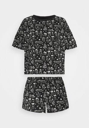 TOVA SET - Pyžamová sada - black