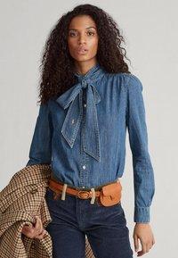 Polo Ralph Lauren - Button-down blouse - medium indigo - 3