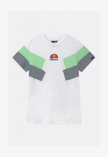 JONARO - Print T-shirt - white