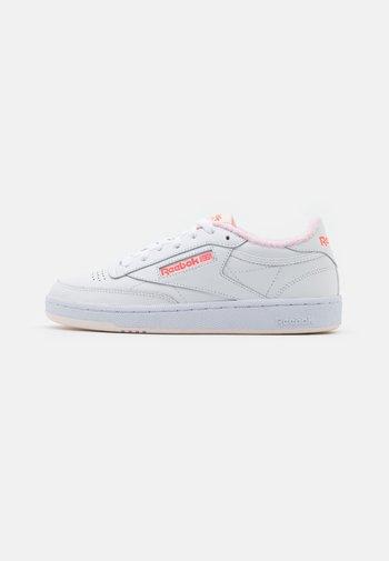 CLUB C 85 - Sneakers basse - white/ceramic pink/orange flare