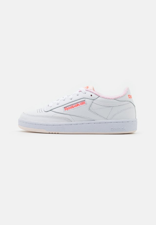 CLUB C 85 - Sneakers laag - white/ceramic pink/orange flare