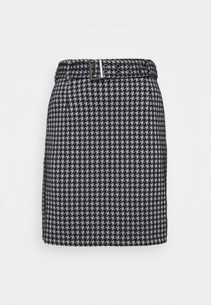 NMHOUND  - Pencil skirt - bright white/black
