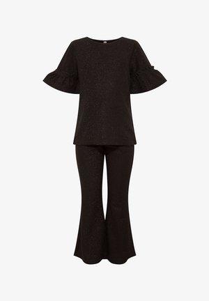 GIRL PYJAMA SET - Pijama - black
