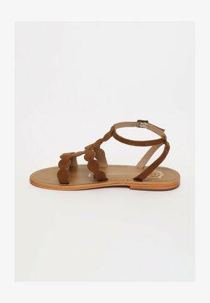 THUJA - Sandals - camel