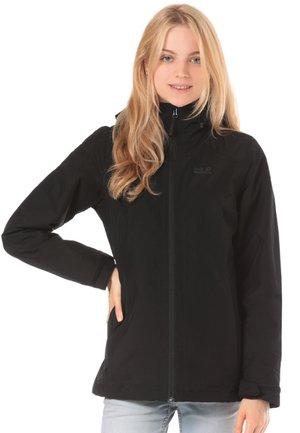 NORRLAND 3-IN-1 - Fleece jacket - black