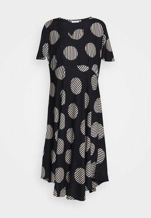 NANETTE - Korte jurk - black