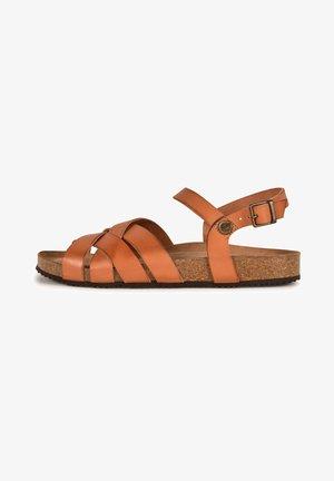CASSIE F2G - Sandals - camel