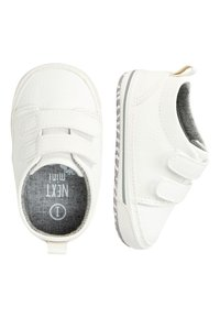 Next - NAVY TWO STRAP PRAM SHOES  - Tenisky - white - 1