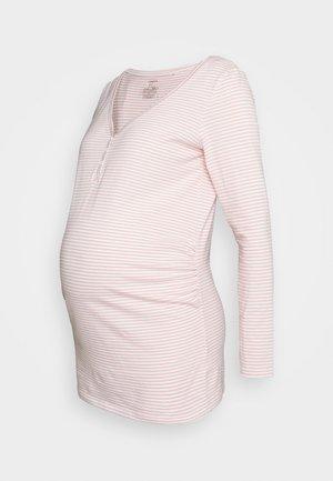 NIGHT TOP TINA NURSING - Pyjama top - dusty pink