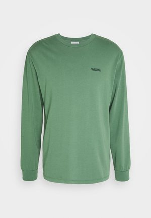 CIRCLE LOGO LONGSLEEVE UNISEX - Long sleeved top - green