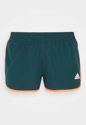 M20 SHORT - Sports shorts - wild teal/screaming orange