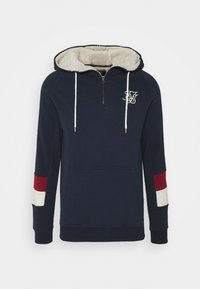 SIKSILK - OLD ENGLISH BORG QUARTER ZIP - Sweater - navy - 3