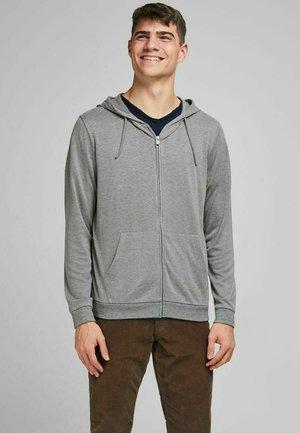 WEICH - Zip-up sweatshirt - light grey melange