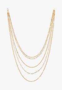 Pieces - PCNATINA COMBI NECKLACE KEY - Halskette - gold-coloured - 3