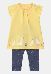 Staccato - SET - Trousers - yellow/dark blue - 0