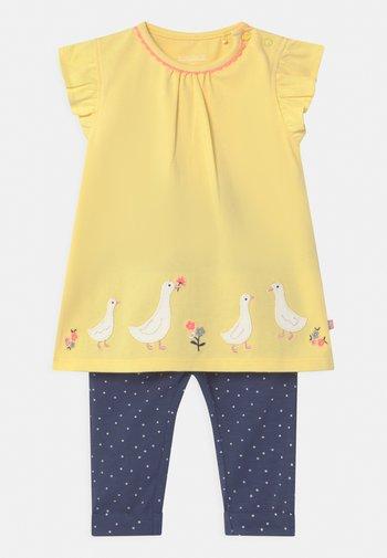 SET - Trousers - yellow/dark blue