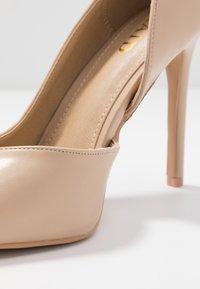 RAID - PEITRA - Zapatos altos - nude - 2