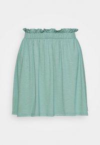 Mini skirt - turquoise