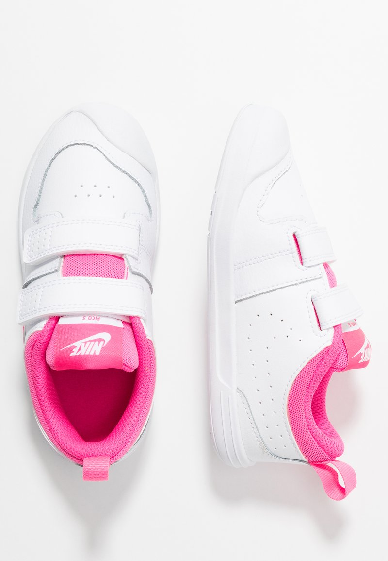 Nike Performance - PICO 5 UNISEX - Sports shoes - white/pink blast