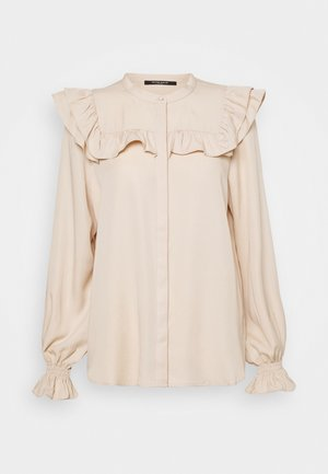 LAERA DOVE - Button-down blouse - sand