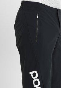 POC - ESSENTIAL ENDURO SHORTS - Sports shorts - uranium black - 4