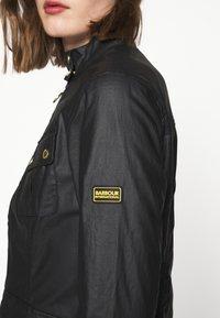 Barbour International - THUNDERBOLT CASUAL - Summer jacket - black - 3
