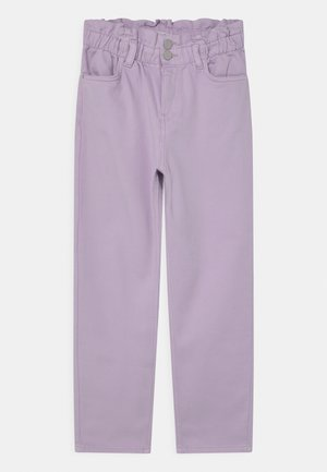 NELLIE - Relaxed fit jeans - light lilac