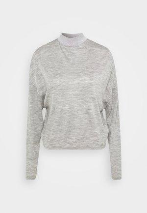 CHAHIDA - Topper langermet - light melange grey