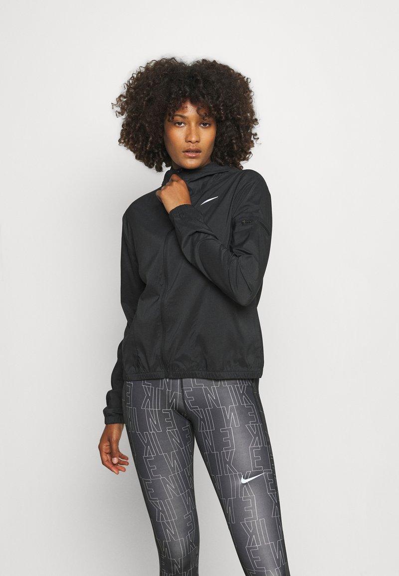 Nike Performance - Sports jacket - black/silver