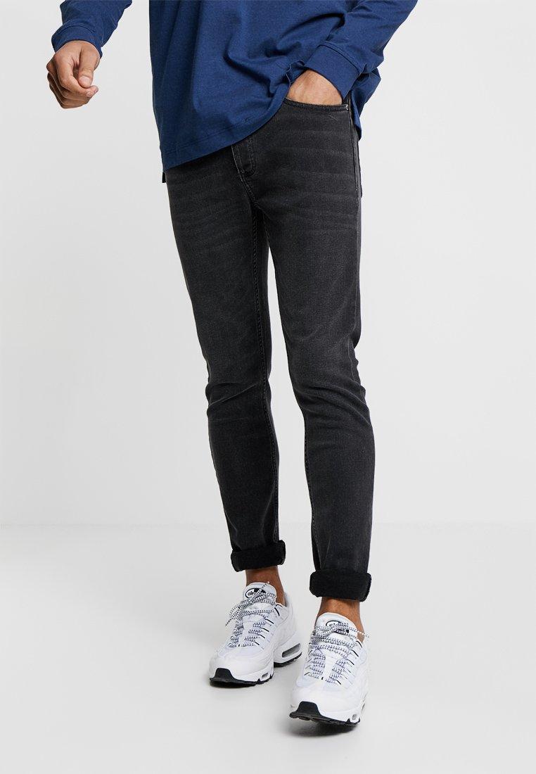 Topman - GREY JEANS SKINNY FIT - Jeans Skinny Fit - grey