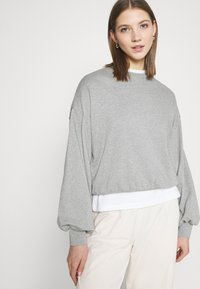 NU-IN - Sweatshirt - grey marl - 3