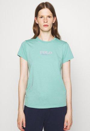 SHORT SLEEVE - T-shirt con stampa - tiki green