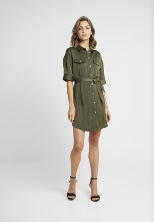 VMJANE DRESS - Shirt dress - ivy green