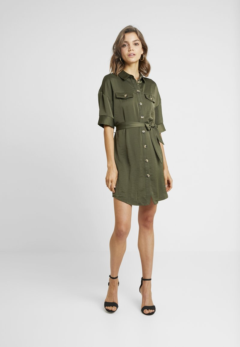 Vero Moda - VMJANE DRESS - Shirt dress - ivy green