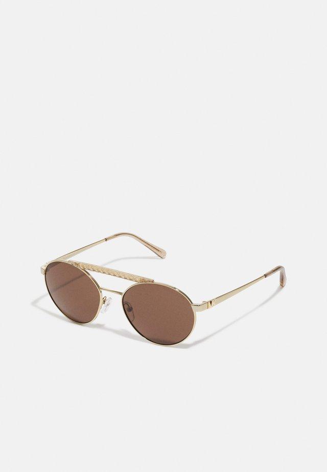 MILOS - Sluneční brýle - light gold-coloured