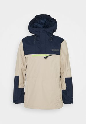 PARK RUN  ANORAK - Snowboard jacket - ancient fossil/collegiate navy