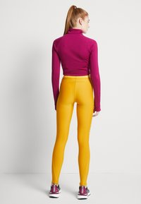 adidas Performance - ASK C.RDY - Tights - dark yellow - 3