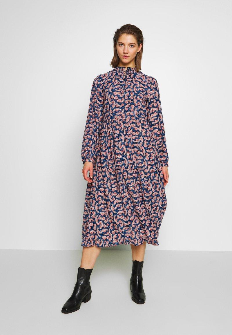 ONLY - ONLALLY  DRESS - Day dress - palace blue/rose smoke