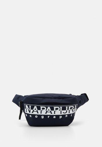 HAPPY WAIST BAG UNISEX - Bum bag - blu marine