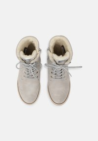 Tamaris - Lace-up ankle boots - light grey - 4