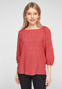 s.Oliver - Blouse - true red embroidery - 3